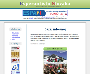 časopis Esperantisto Slovaka