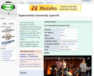 Esperantsko-slovenský spevník