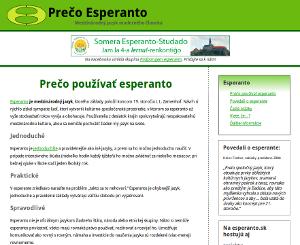Prečo Esperanto?