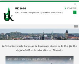 Svetový kongres esperanta 2016